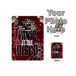 Panic At The Disco Poster Playing Cards 54 (Mini)  Front - SpadeQ