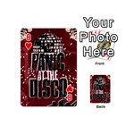 Panic At The Disco Poster Playing Cards 54 (Mini)  Front - Heart8