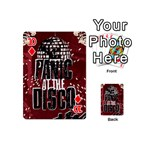 Panic At The Disco Poster Playing Cards 54 (Mini)  Front - Diamond10