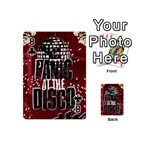 Panic At The Disco Poster Playing Cards 54 (Mini)  Front - Club8