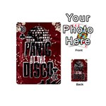 Panic At The Disco Poster Playing Cards 54 (Mini)  Front - Club10