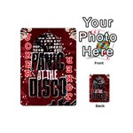 Panic At The Disco Poster Playing Cards 54 (Mini)  Front - Joker2