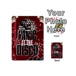 Panic At The Disco Poster Playing Cards 54 (Mini)  Back