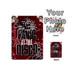 Panic At The Disco Poster Playing Cards 54 (Mini)  Front - Spade10