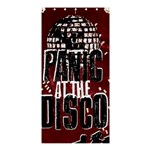 Panic At The Disco Poster Shower Curtain 36  x 72  (Stall)  33.26 x66.24 Curtain