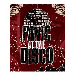 Panic At The Disco Poster Shower Curtain 60  x 72  (Medium)