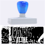 Panic At The Disco Poster Rubber Address Stamps (XL) 3.13 x1.38  Stamp