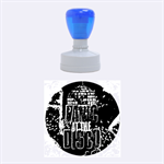 Panic At The Disco Poster Rubber Round Stamps (Medium) 1.5 x1.5  Stamp