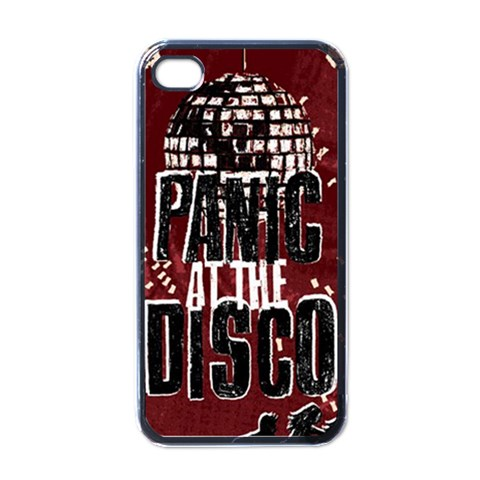 Panic At The Disco Poster Apple iPhone 4 Case (Black)