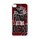 Panic At The Disco Poster Apple iPhone 4 Case (White) Front