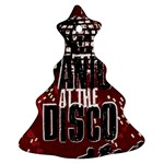 Panic At The Disco Poster Christmas Tree Ornament (2 Sides) Back