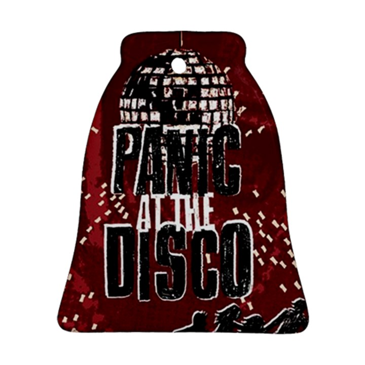 Panic At The Disco Poster Bell Ornament (2 Sides)