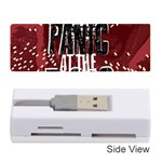 Panic At The Disco Poster Memory Card Reader (Stick)  Front