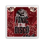Panic At The Disco Poster Memory Card Reader (Square)  Front