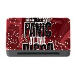 Panic At The Disco Poster Memory Card Reader with CF Front