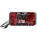 Panic At The Disco Poster Portable Speaker (Black)  Front