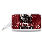 Panic At The Disco Poster Portable Speaker (White)  Front
