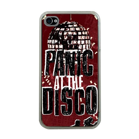 Panic At The Disco Poster Apple iPhone 4 Case (Clear)