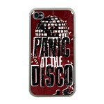 Panic At The Disco Poster Apple iPhone 4 Case (Clear) Front