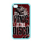 Panic At The Disco Poster Apple iPhone 4 Case (Color) Front