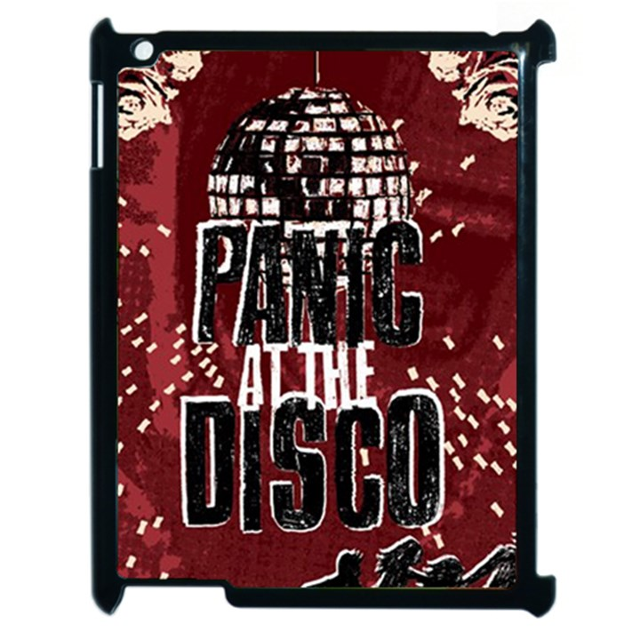 Panic At The Disco Poster Apple iPad 2 Case (Black)