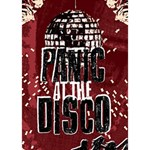 Panic At The Disco Poster BOY 3D Greeting Card (7x5) Inside