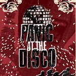 Panic At The Disco Poster Twin Hearts 3D Greeting Card (8x4) Inside