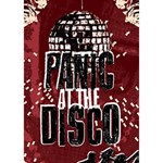 Panic At The Disco Poster Circle Bottom 3D Greeting Card (7x5) Inside