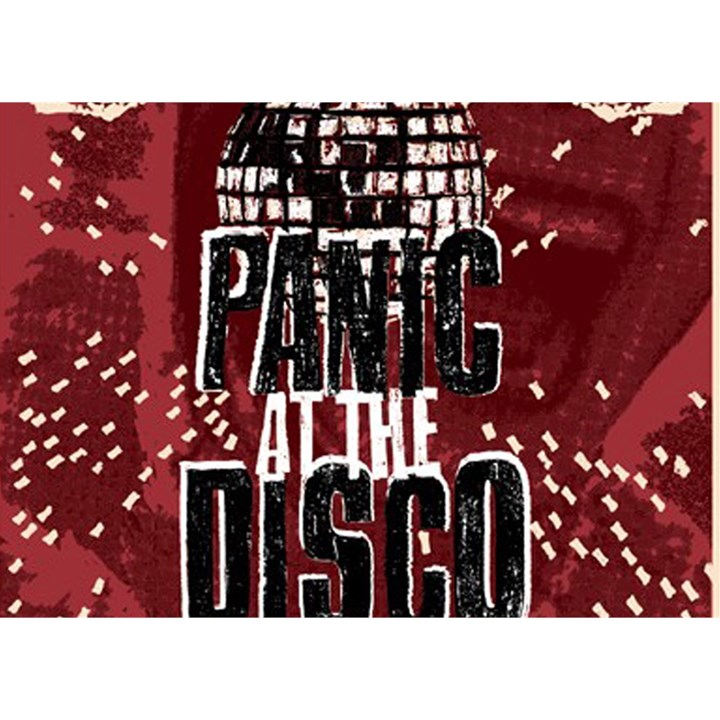 Panic At The Disco Poster Birthday Cake 3D Greeting Card (7x5)