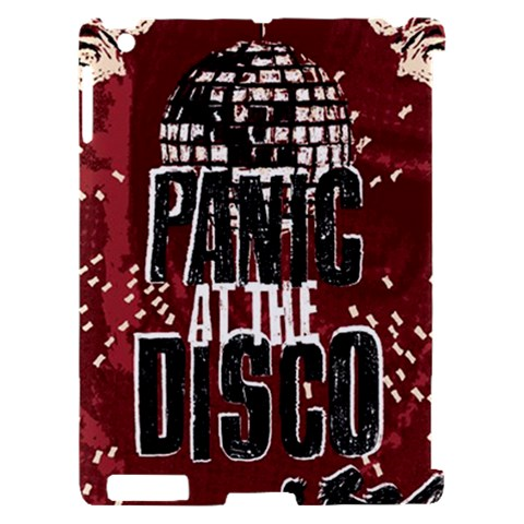 Panic At The Disco Poster Apple iPad 2 Hardshell Case (Compatible with Smart Cover)