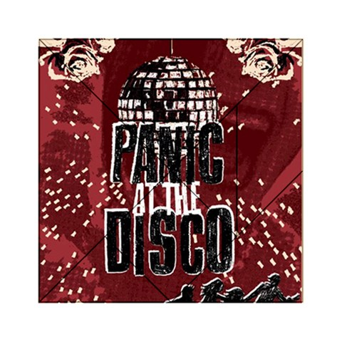 Panic At The Disco Poster Acrylic Tangram Puzzle (6  x 6 )