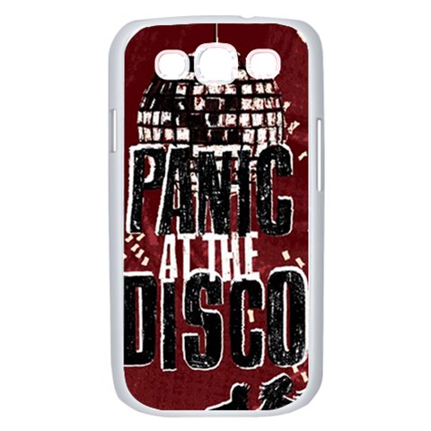 Panic At The Disco Poster Samsung Galaxy S III Case (White)