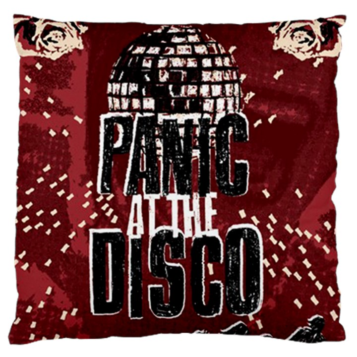 Panic At The Disco Poster Large Cushion Case (Two Sides)