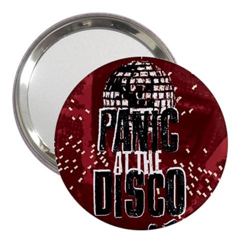 Panic At The Disco Poster 3  Handbag Mirrors