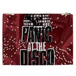 Panic At The Disco Poster Cosmetic Bag (XXL)  Back