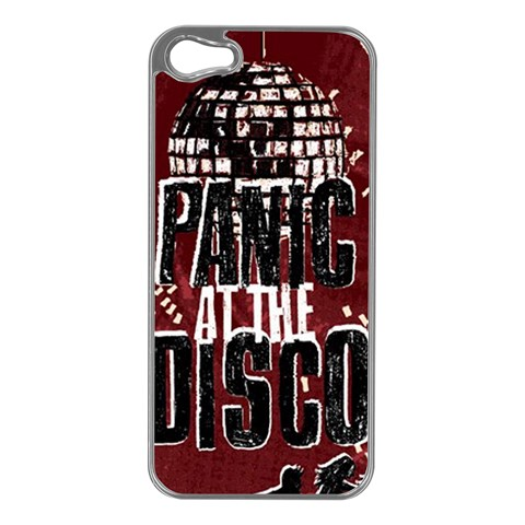 Panic At The Disco Poster Apple iPhone 5 Case (Silver)