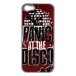 Panic At The Disco Poster Apple iPhone 5 Case (Silver) Front