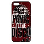 Panic At The Disco Poster Apple iPhone 5 Seamless Case (Black) Front