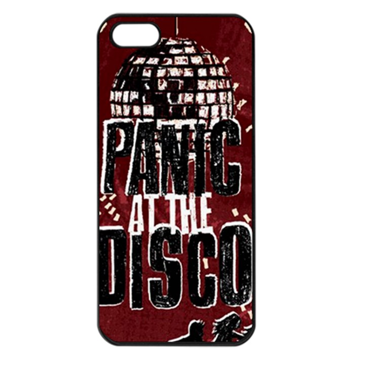 Panic At The Disco Poster Apple iPhone 5 Seamless Case (Black)