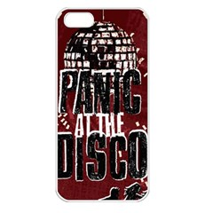 Panic At The Disco Poster Apple iPhone 5 Seamless Case (White)