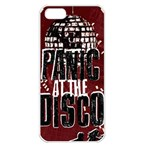 Panic At The Disco Poster Apple iPhone 5 Seamless Case (White) Front