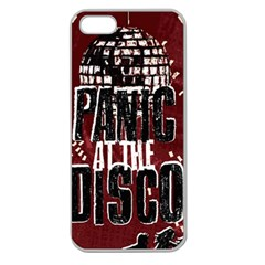 Panic At The Disco Poster Apple Seamless iPhone 5 Case (Clear)