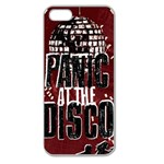 Panic At The Disco Poster Apple Seamless iPhone 5 Case (Clear) Front