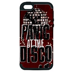 Panic At The Disco Poster Apple iPhone 5 Hardshell Case (PC+Silicone)