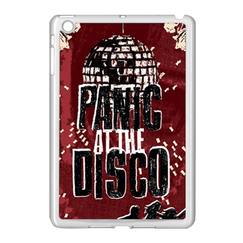 Panic At The Disco Poster Apple iPad Mini Case (White)