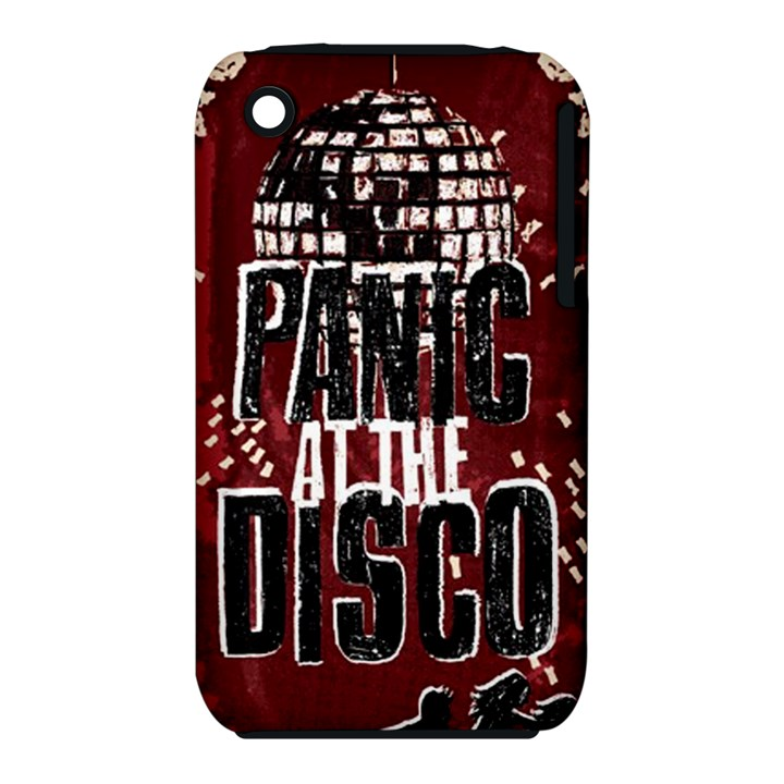 Panic At The Disco Poster Apple iPhone 3G/3GS Hardshell Case (PC+Silicone)