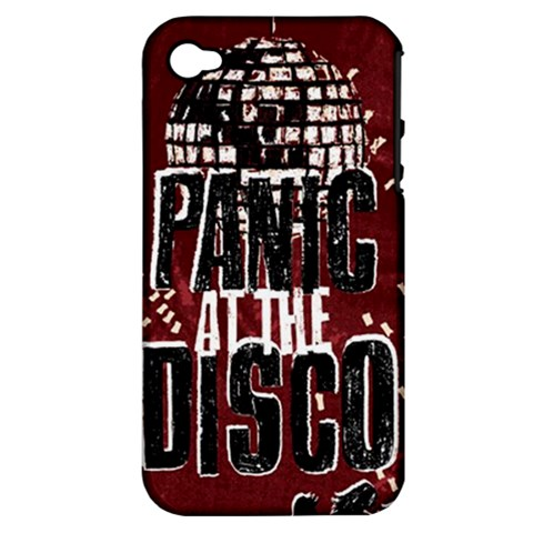 Panic At The Disco Poster Apple iPhone 4/4S Hardshell Case (PC+Silicone)