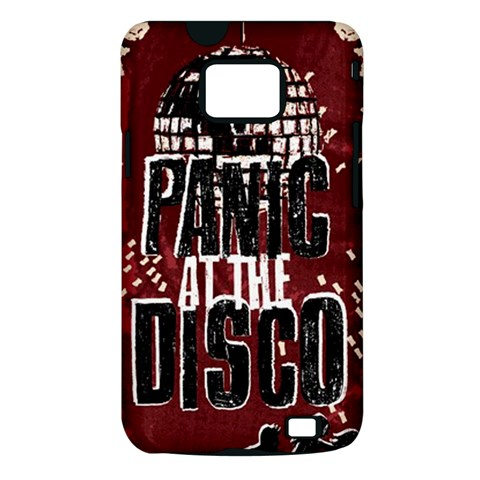 Panic At The Disco Poster Samsung Galaxy S II i9100 Hardshell Case (PC+Silicone)
