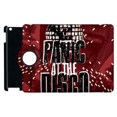 Panic At The Disco Poster Apple Ipad 3/4 Flip 360 Case