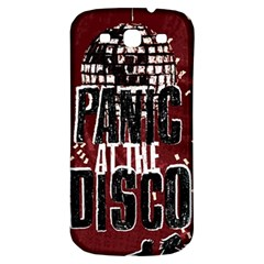 Panic At The Disco Poster Samsung Galaxy S3 S Iii Classic Hardshell Back Case